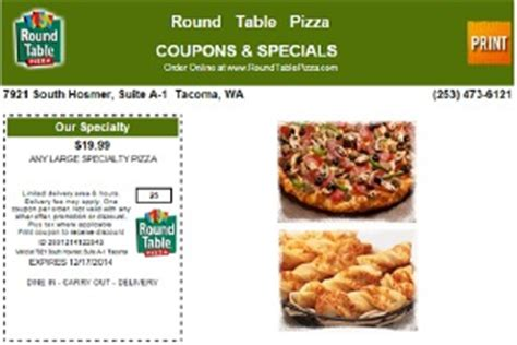 round table pizza printable coupons round table pizza pizza coupons for tacoma up lacey