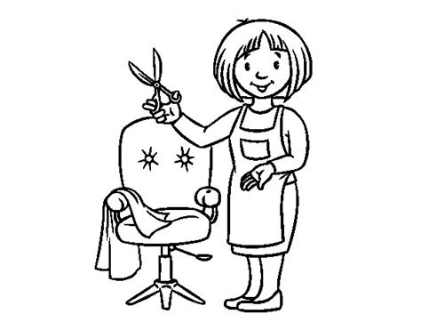 hairdresser coloring pages hairdresser coloring pages coloring pages