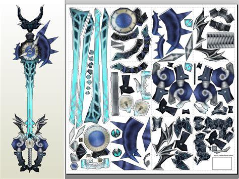 Keyblade Papercraft - xehanort s keyblade pdo pdf by eutytoalba on deviantart