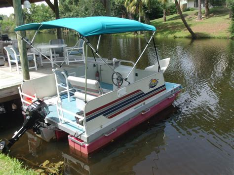 used rettey pontoon boats for sale rettey custom built 8 x 12 2003 for sale for 6 995