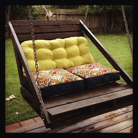 how to make pallet swing pallet diy porch swing homedesignboard