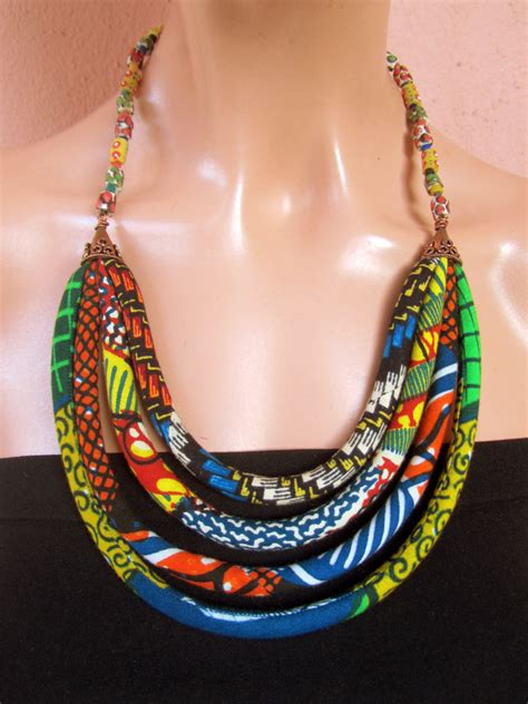 tappeti messicani statement necklace ethnic