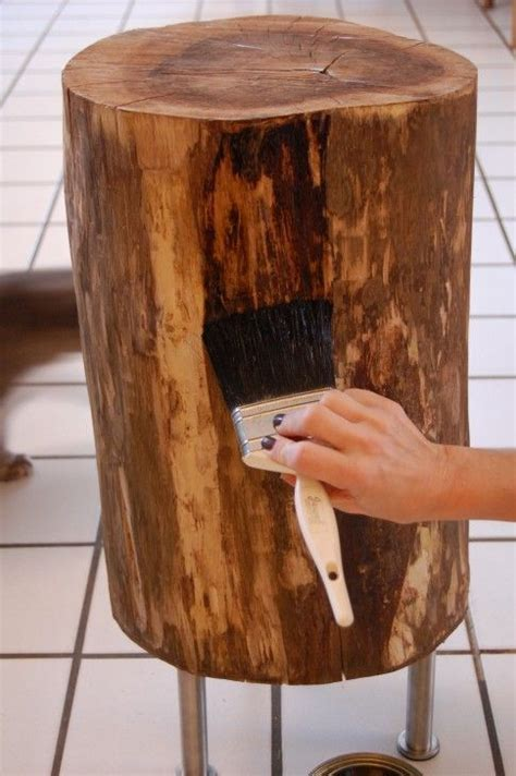 tree trunk bar top 25 best ideas about tree stump table on pinterest tree stump