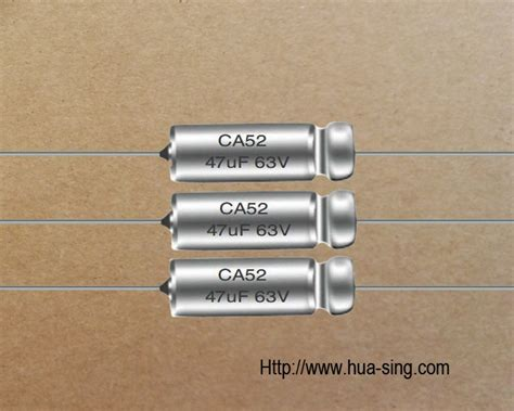 tantalum capacitor through ca52型非固体电解质钽电容器 aluminum electrolytic disc ceramic solid tantalum capacitors