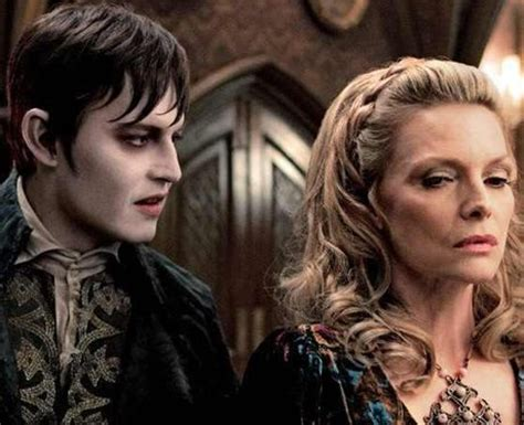 the stars of dark shadows where are they now joan bennett johnny depp and michelle pfeiffer on set with the stars