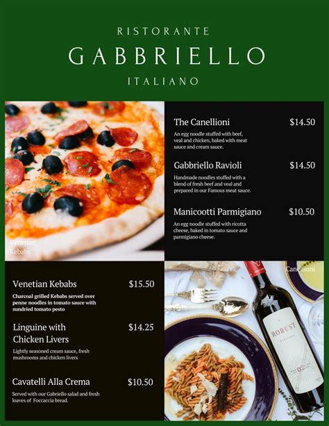 canva restaurant menu how restaurants should use social media