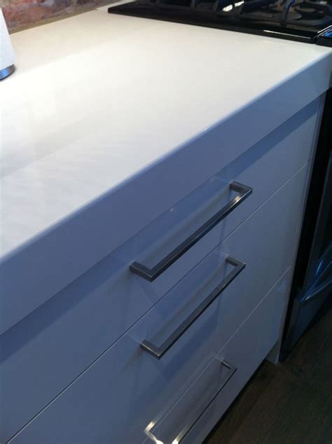 Drilling Quartz Countertop by Graniteworx White Quartz Countertop Yaron White Quartz Countertops