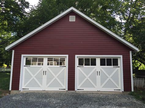 Amish 2 Car Garage by Garages Amish Built