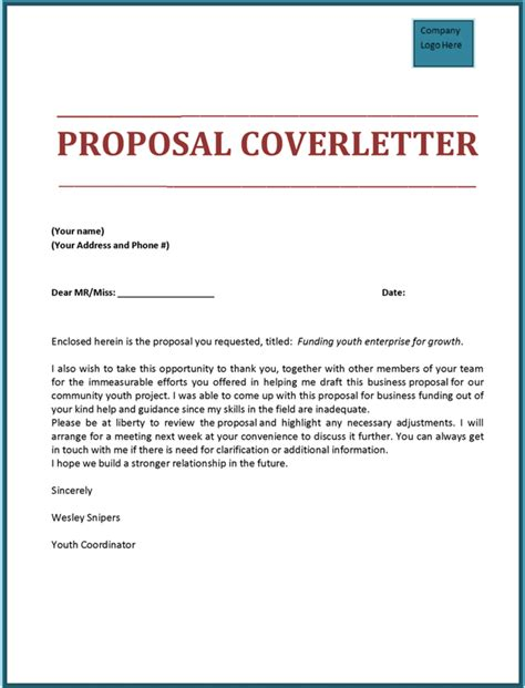 Cover Letter For Rfp by Cover Letter