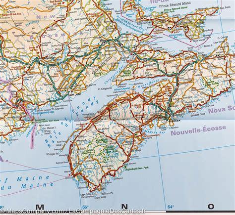 eastern canada map map of eastern canada reise how mapscompany