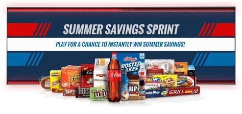 Kroger Instant Win - kroger instant win game summer savings sprint 50 000 prizes available