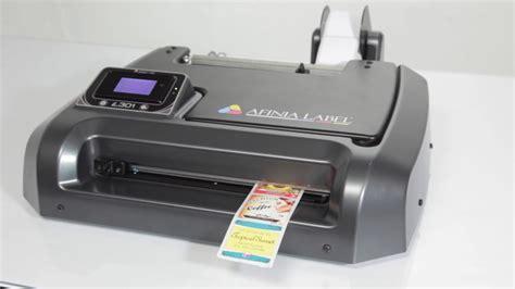 small color printer afinia label l301 color label printer for small business