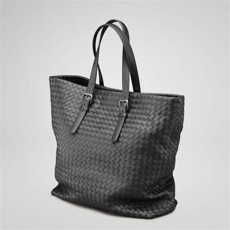 botegga venetta bottega veneta nero intrecciato nappa tote all handbag
