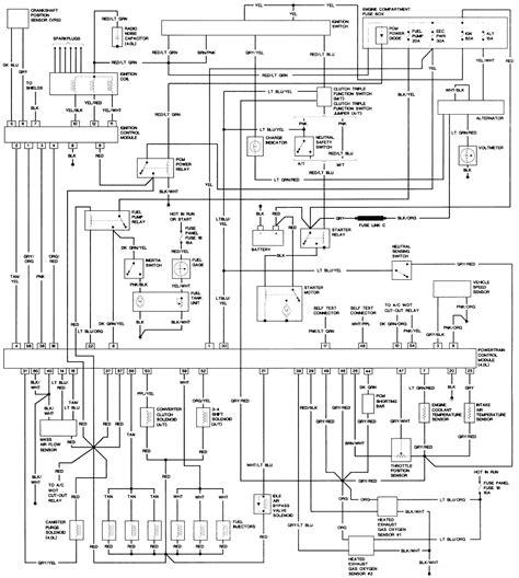 91 ford explorer wiring diagram 91 ford explorer radio