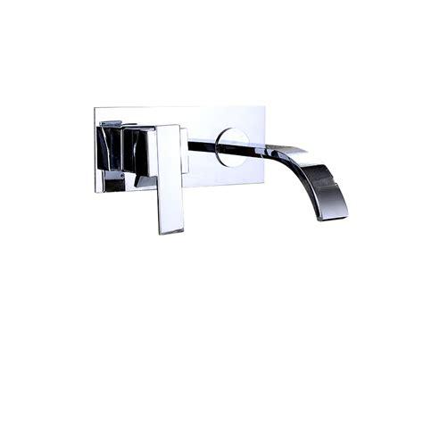 brass waterfall bathroom sink faucet waterfall bathroom sink faucet wall mount brass chrome silver