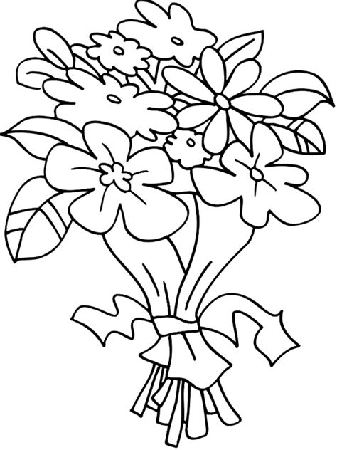 tulip coloring pages free printable coloring pages kids