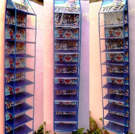 Rak Sepatu Gantung Doraemon rak sepatu gantung toko bunda