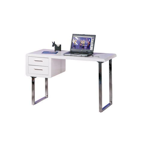 scrivania metallo dinora scrivania da ufficio moderna con 2 cassetti in