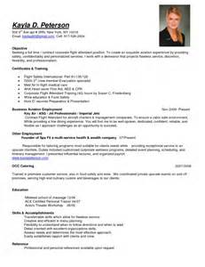 awesome flight attendant description resume resume