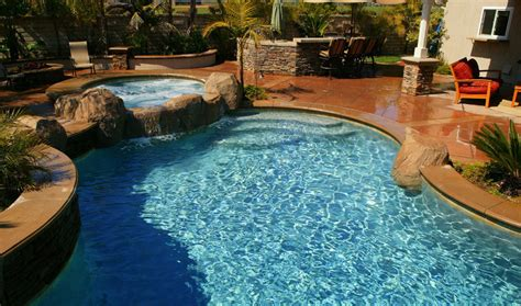 Pool Backyard Designs Cool Natural Inground Swimming Cool Backyard Pools