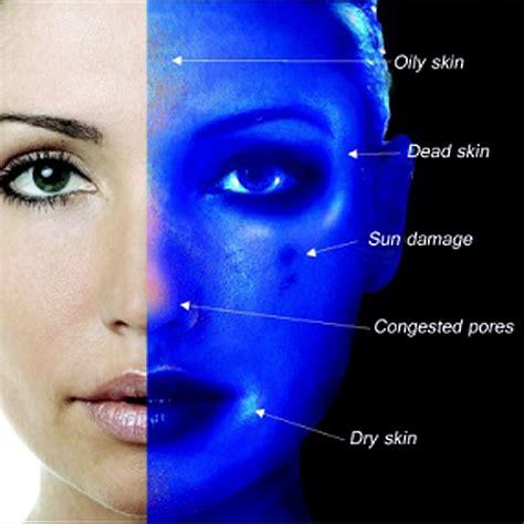 wood l skin analysis curage 174 spa woods ls skin scope evaluation