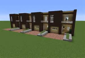 Modern House Building modern terraced house 1 grabcraft your number one