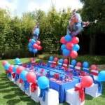 Spiderman Table And Chairs Spiderman Kids Party Theme Hassle Free Kids Party Ideas