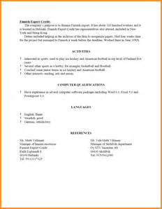 Reference For Resume Format by 10 How To Write References On A Resume Ledger Paper