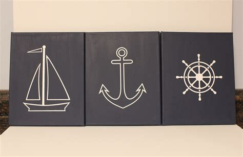 Nautical Nursery Wall Decor Wall Decor Nautical Simple Home Decoration
