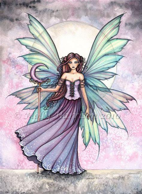 zyla pixie spring artists fairy print spring dream fairy print 9 x 12 by