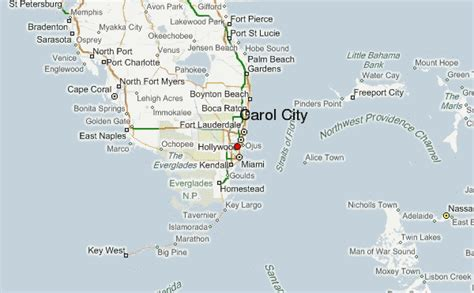 Find On By Name And City Carol City Location Guide