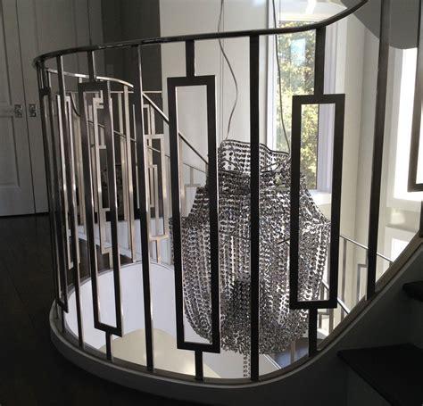 modern stair railings interior railing design iron  balcony exterior wrought home depot hmh