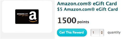E Gift Card Amazon - recyclebank 5 amazon com e gift card with 1500 points