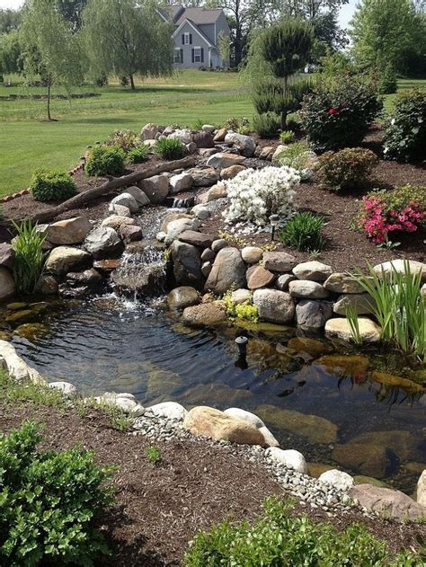 building a small backyard pond 25 best ideas about ponds on pinterest garden ponds