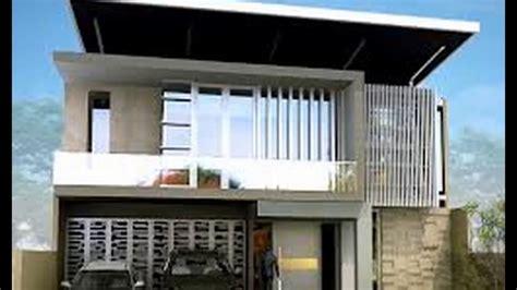 desain rumah atap datar desain rumah minimalis dengan atap datar youtube