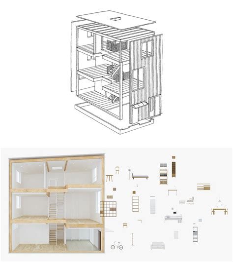 Mini Homes Floor Plans Muji S Latest Pre Fab Re Thinks The Design Of A House Core77