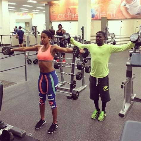 kevin hart gym kevin hart and fiance eniko parrish coupling pinterest