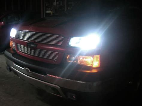 chevy silverado 6k white xenon hid kit headlight bulbs for