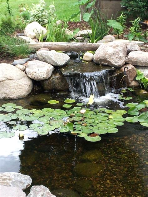 backyard pond ideas with waterfall small landscape waterfalls landscaping and outdoor