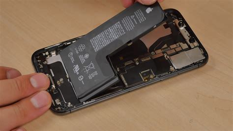 iphone xs teardown hits the web shows single cell l shaped battery redmond pie