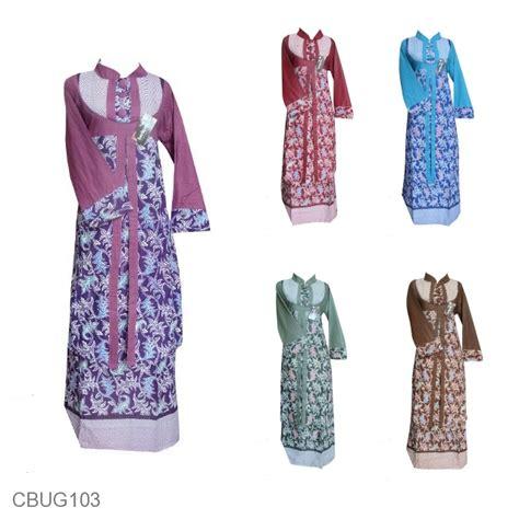 Baju Batik Gamis Murah baju batik gamis motif lurik bintang awur gamis batik