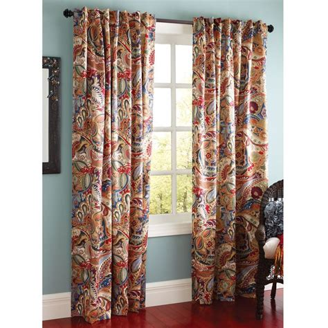 paisley curtains red 17 best ideas about paisley curtains on pinterest
