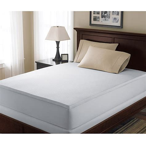 Canopy Memory Foam Mattress Topper by Canopy 1 5 Hypoallergenic Mattress Topper Walmart