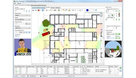 cctv layout design software dahua jvsg integration ip video system design tool