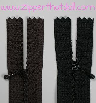 fashion doll zippers zipper that doll zippers made for doll fashion sewing