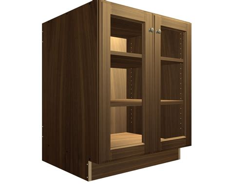 kitchen base cabinets with glass doors 2 glass door base cabinet