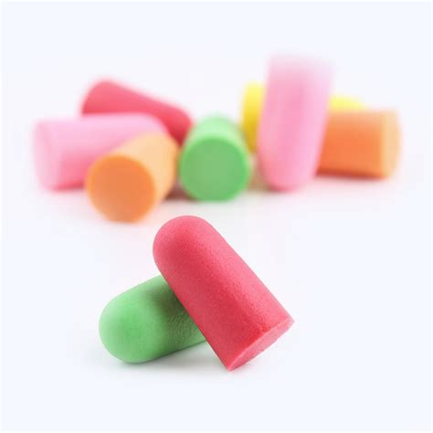 comfortable ear plugs 1 pair foam ear plugs anti noise snore earplugs