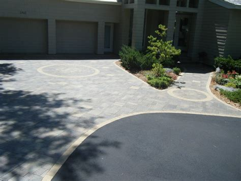 Landscape Design In Front Of Garage Driveway Landscaping In Annandale Minnesota And
