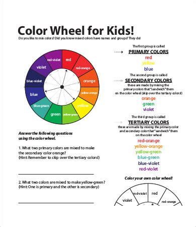 color wheel charts    documents