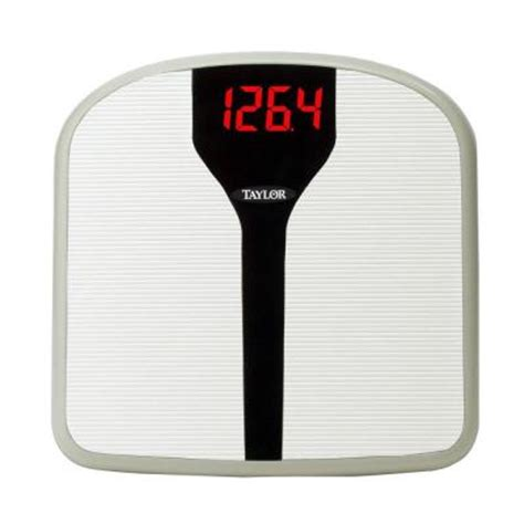 taylor digital bathroom scale taylor superbrite electronic digital bath scale 98574072